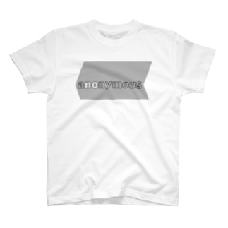 anonymous #008 (optical illusion) T-shirts