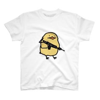 物騒なひよこ T-shirts