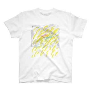 しろたえのふとんのなかでとびきりの宇宙遊泳みたいな二度寝 T-shirts
