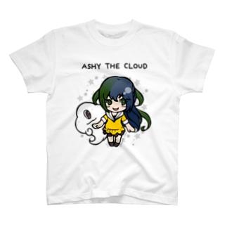 雲とおんなのこ T-shirts