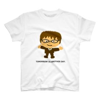 めがねくん-01 T-shirts