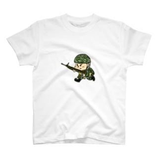 戦場くん T-shirts
