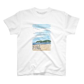 海辺 T-shirts