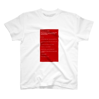ReactNative Red Screen T-shirts