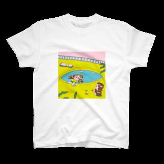 浜村満果の夏のプールのTシャツ T-shirts