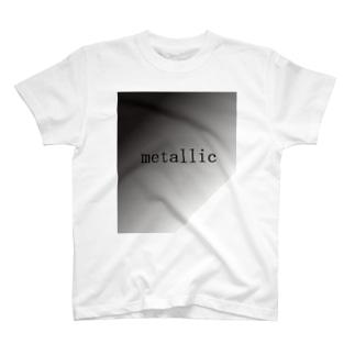 METALLIC T-shirts