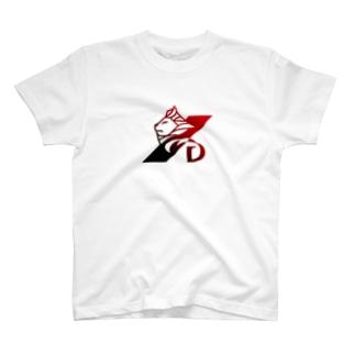 RIDON オリジナル Lion(赤) T-shirts