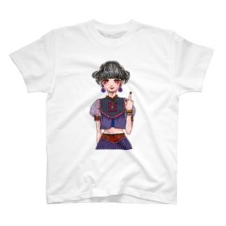 チャイナがーる T-shirts