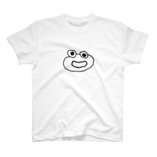 わらいカエルくん T-shirts