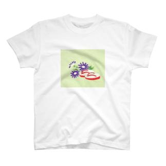 こみち柄 T-shirts