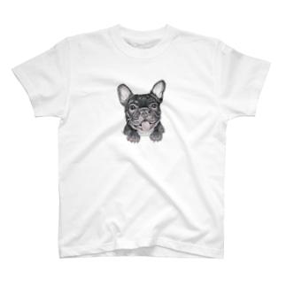 穴からフレブル T-shirts