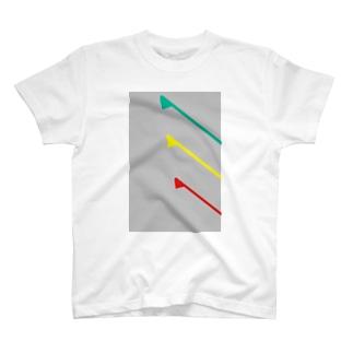 角から 明朝体2 T-shirts