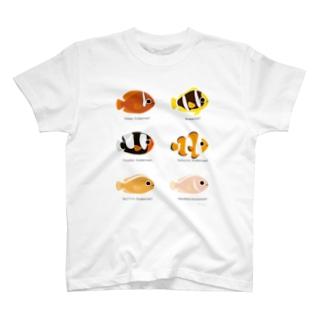 クマノミ6! T-shirts