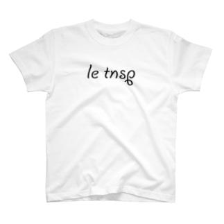 LeTNSP-001(黒) T-shirts