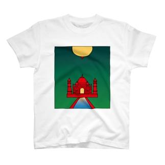 oppai Taji_Mahalグッズ Tシャツ