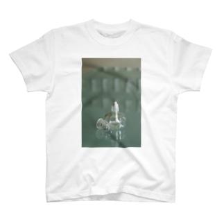 アルコールランプ(タテ) T-shirts