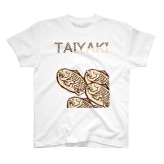 ポップたい焼き T-shirts