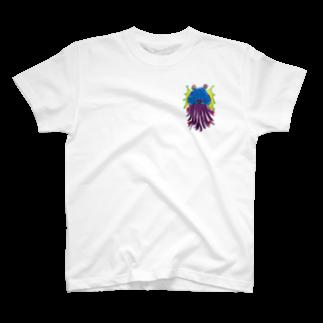 ICHITA_GAHAKUのHANEKURAGE1 T-shirts