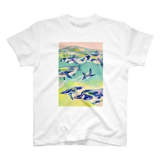 ペンギン・ジェット T-shirts