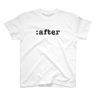 :after T-shirts