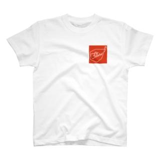 GIFT to KIDS FUTURE(RED BG) T-shirts