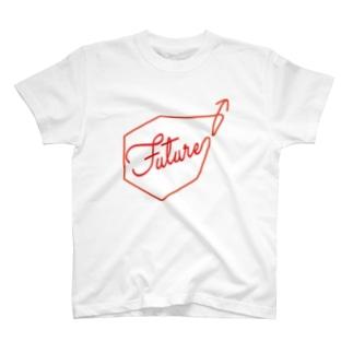 GIFT to KIDS FUTURE (WH BG) T-shirts