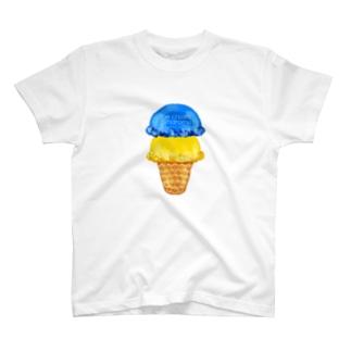 マンゴーソーダアイスクリーム T-shirts
