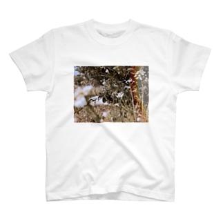居た(カラー) T-shirts