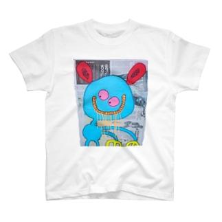 悪巧みエイリアン T-shirts