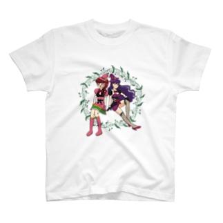 バトル魔女っ子 T-shirts