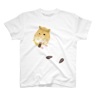 ねぼけたハムスター T-shirts