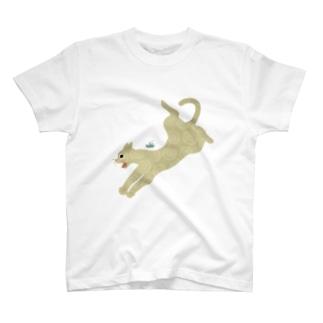 ねこびっくり T-shirts