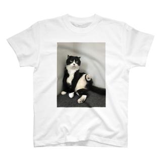 まめパパポーズ T-shirts