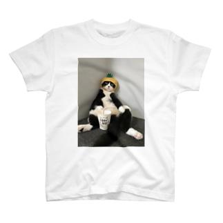まめパパ熱中症対策 T-shirts
