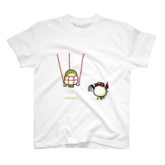 SMめじろちゃん T-shirts
