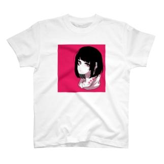 ビビットカラーボブちゃん T-shirts