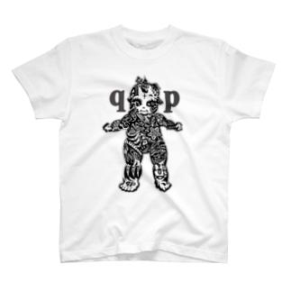 Jackpool の👼🏼🌞qpゼンタングル🌝👼🏼 T-shirts