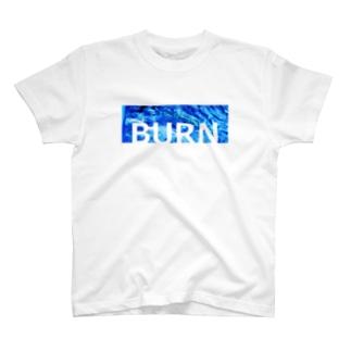BURN-Tシャツ T-shirts