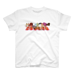 pedro nekoiのMUNDOS 1 T-shirts