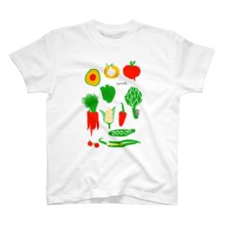 野菜 T-shirts