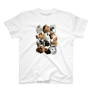 2頭身もる T-shirts