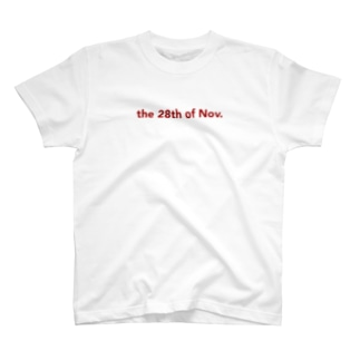 the 28th of Nov. T-shirts