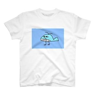 クジラのじゃっく T-shirts