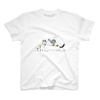 魚をあげよう T-shirts