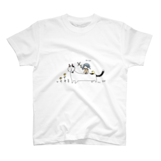 ほっかむねこ屋@TシャツSALE中の魚をあげよう T-shirts