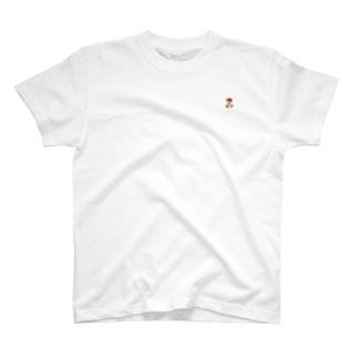 帽子をかぶった男の子 T-shirts