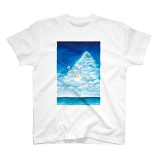 『のびのびインコちゃんと夏のブランコ』 T-shirts