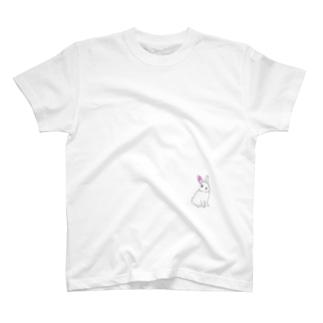 白うさぎ T-shirts