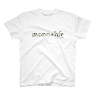 キャンプバカヤロウのmono*life2009 T-shirts