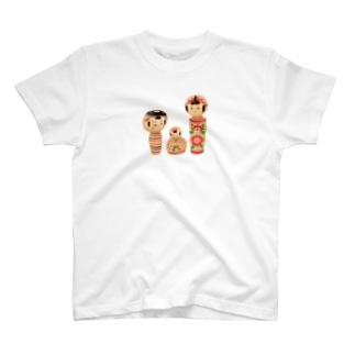 こけしさん T-shirts